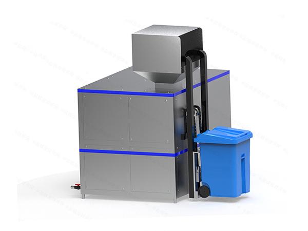 大型机械式餐饮垃圾烘干粉碎设备技术