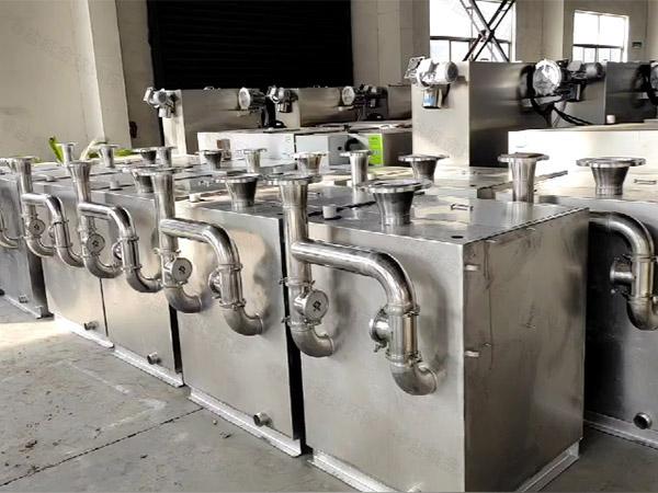 酒店外置双泵污水提升装置侧面马桶进口的
