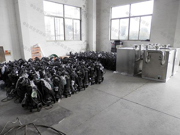 庭院智能环保污水处理提升器的安装条件