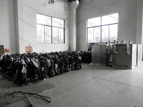 室内无堵塞污水提升器设备不工作