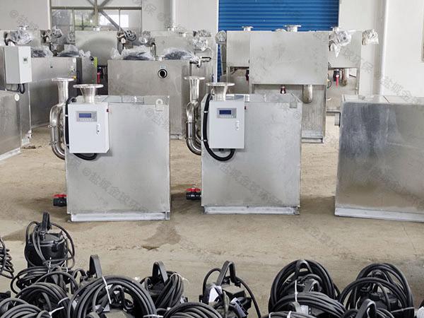 商场智能污水提升器装置国产和进口哪个好
