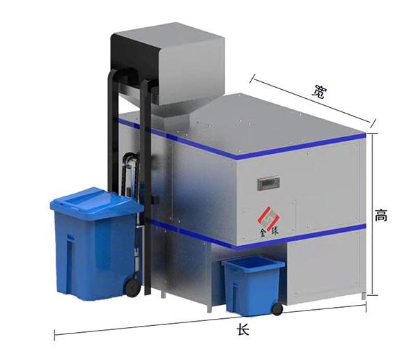 20吨环保餐饮一体化垃圾处理设备结构设计