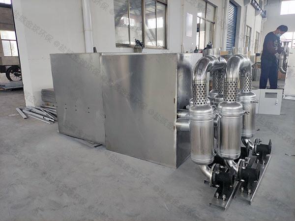 餐饮厨房地埋式无动力强排油水分离器检测报告