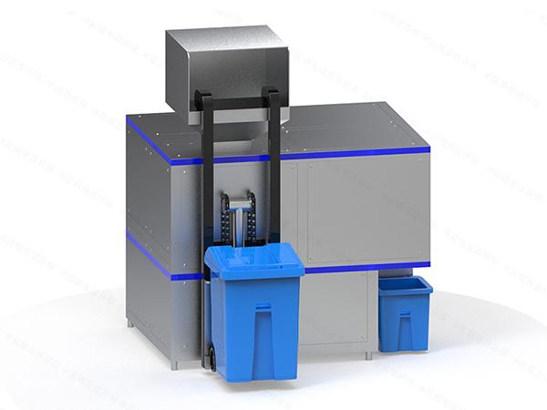 日处理10吨智能厨余垃圾油水分离一体机批发
