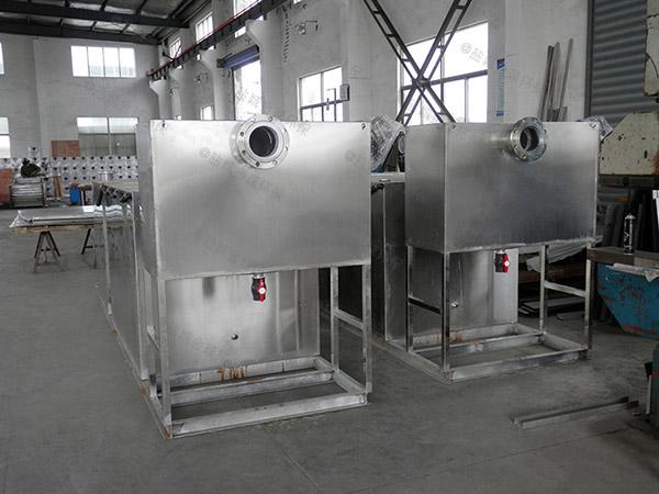 水池子下边密闭式分体式三相油水分离设备技术参数厂家