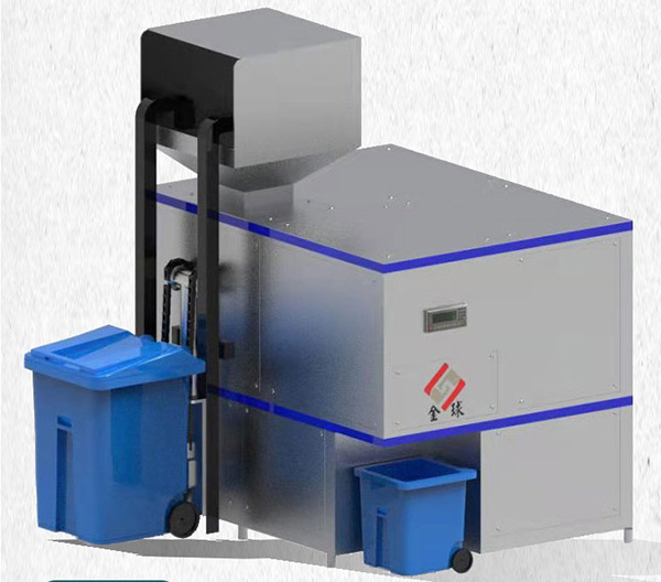 机械式餐厨垃圾油水分离设备结构