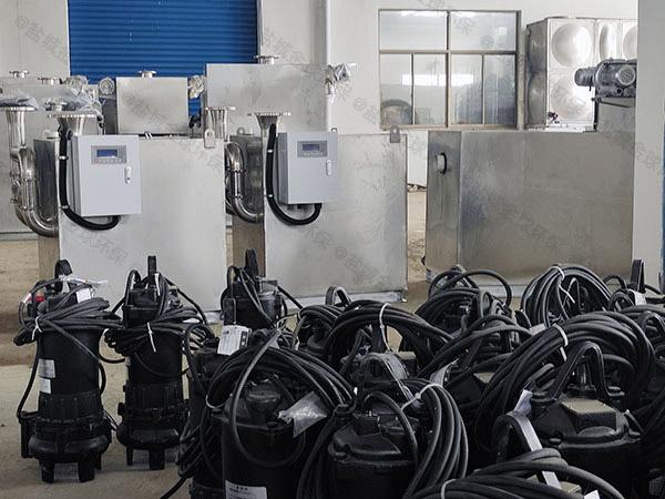 商场专用排水污水处理提升器什么牌子质量好