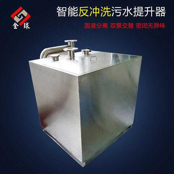 家庭切割型污水提升器如何看扬程够不够