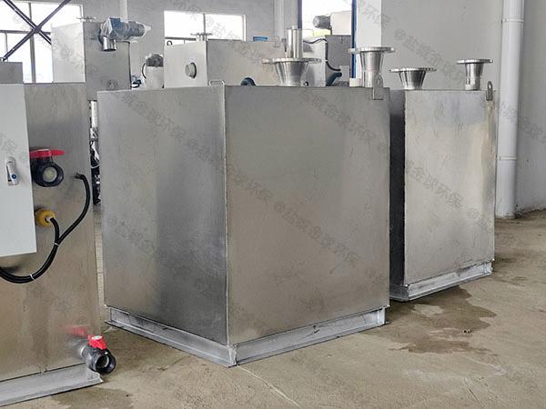 负一层地下室内置污水隔油提升器安装尺寸
