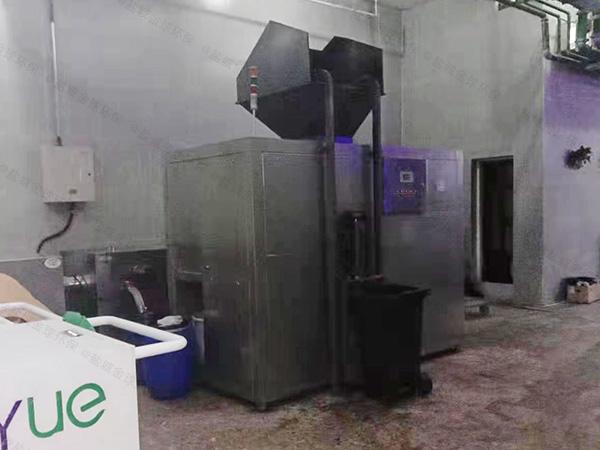 大小型智能餐饮垃圾脱水机处理方案