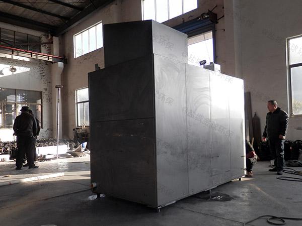 大型5吨智能餐饮垃圾烘干粉碎压缩设备对环境的影响