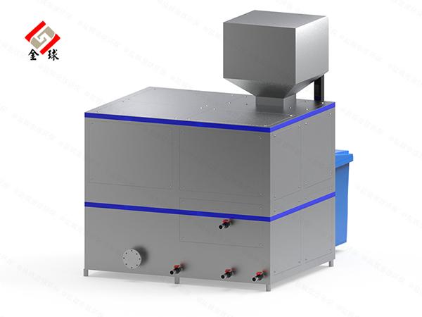 日处理5吨自动化餐厨垃圾处理一体机处理方式