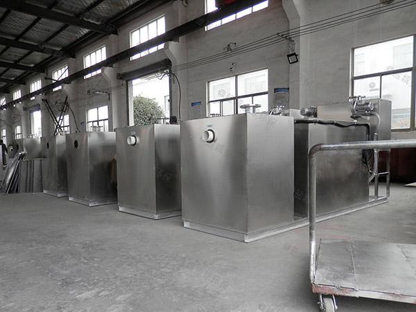餐馆大型压缩空气水油分离处理设备合格证