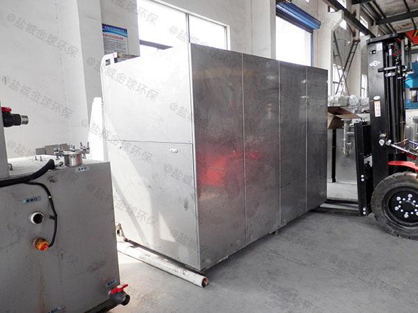 日处理5吨智能厨余湿垃圾处理机采购