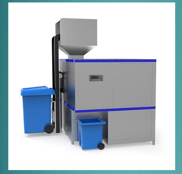 20吨自动上料厨余垃圾一体机方法