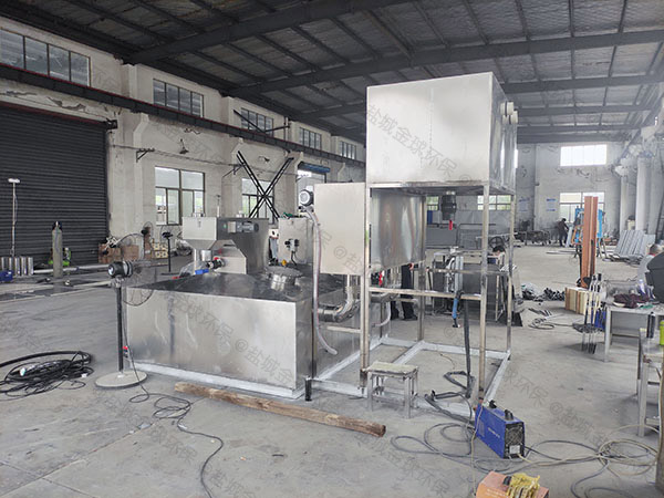 餐厅厨房大型压缩空气强排油水分离器介绍
