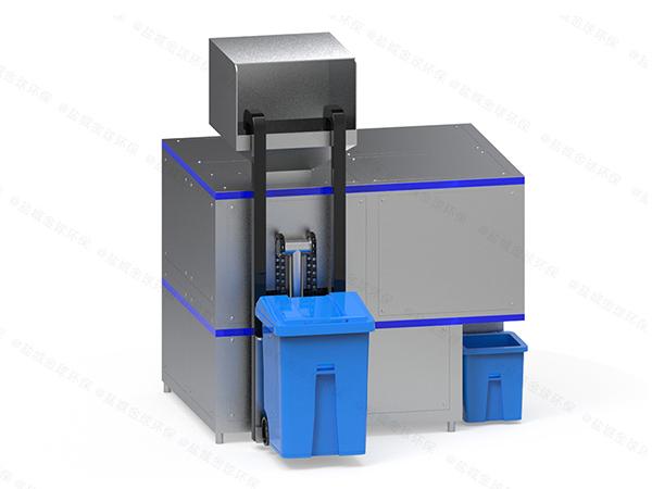 机械式厨余垃圾预处理机器方法